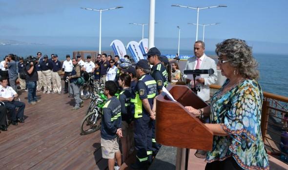 Con patrullajes y módulos, municipio de Viña del Mar refuerza seguridad en el borde costero