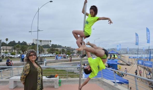 """Alcaldesa Virginia Reginato: """"El verano de Viña del Mar se llena de deporte"""