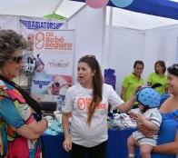 """""""Expo tú y tu bebé"""" fue inaugurada por alcaldesa Virginia Reginato"""