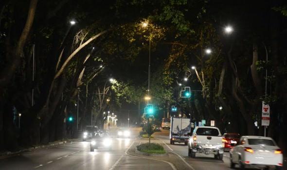 Municipio  de Viña del Mar mejoró iluminación de sector de Población Vergara y ejecuta nuevos proyectos