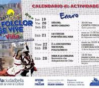 Con variados eventos, el Folclor se vive en Viña durante el verano