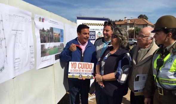 Municipio de Viña del Mar inició proceso de licitación para iluminar plaza La Foresta en Reñaca