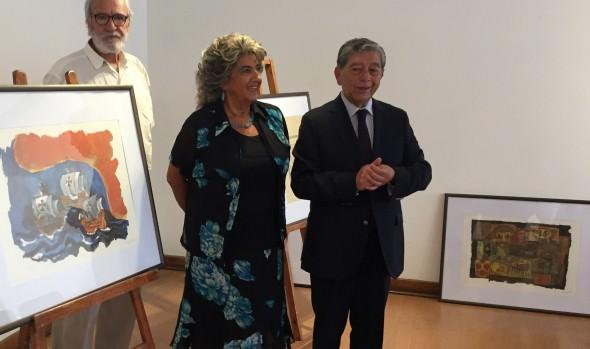 Exposición de Oswaldo Guayasamín que se presentará en Viña del Mar anunció alcaldesa Virginia Reginato