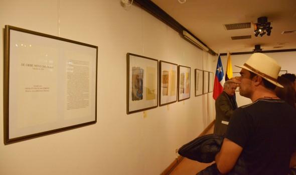 Muestra de grabados y litografías de Oswaldo Guayasamín inauguró alcaldesa Virginia Reginato  Un total de 17 litografías y 40 grabados (aguafuertes) inspirados en los textos del cronista colonial