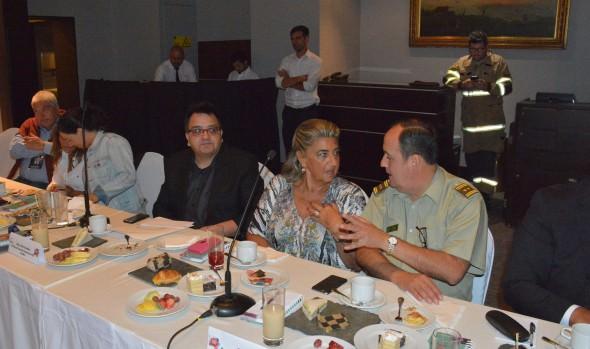 Autoridades coordinan medidas de seguridad por Festival Internacional de la Canción de Viña del Mar
