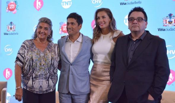 Carácter solidario y participativo del Festival de Viña 2017 destacó alcaldesa Virginia Reginato