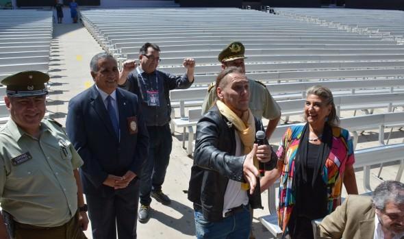 Autoridades aprueban requisitos de seguridad para el desarrollo del Festival de Viña del Mar