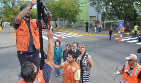 MUNICIPALIDAD DE VIÑA DEL MAR REALIZA OBRAS DE DEMARCACIÓN VIAL EN TODA LA COMUNA