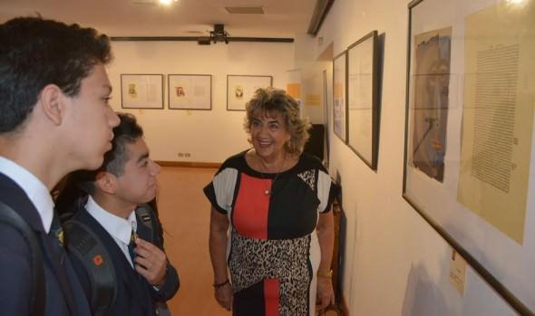 MUNICIPIO INVITA A ESCOLARES A CONOCER OBRA DE OSWALDO GUAYASAMÍN