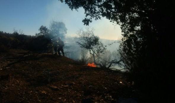 MUNICIPIO COLABORÓ CON CAMIONES ALJIBE EN COMBATE DE INCENDIOS