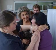   75 mil personas se espera vacunar contra la influenza en Viña del Mar informó alcaldesa Virginia Reginato