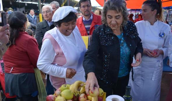 Ferias hortofrutícolas se unieron para promocionar alimentación saludable en Viña del Mar