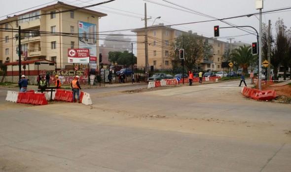 Municipio de Viña del Mar adjudica trabajos para concluir obras viales en Gómez Carreño