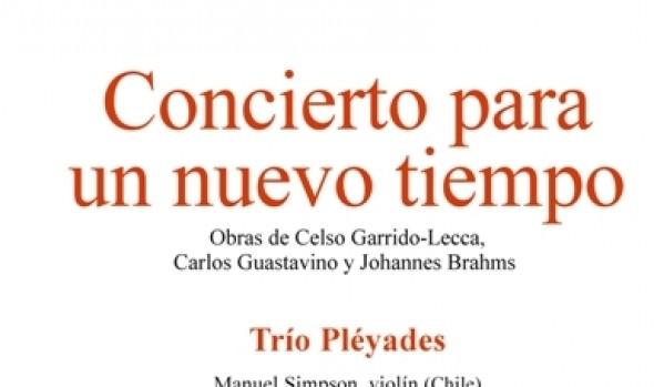 Municipalidad de Viña del Mar y PUCV  invita a presentación  de Trío Pléyades