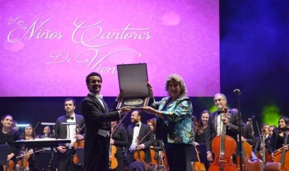 Presentación de los Niños Cantores de Viena deleitó al público en la Quinta Vergara