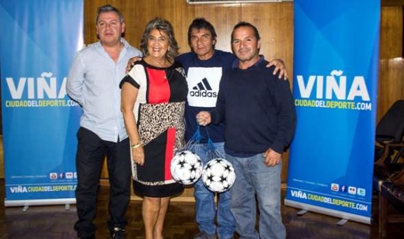 Primera reunión técnica con clubes de fútbol de la comuna sostuvo alcaldesa Virginia Reginato