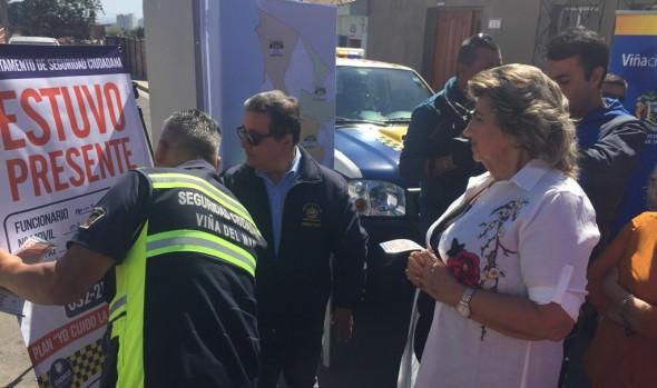 Seguridad Ciudadana de Viña del Mar potencia patrullajes preventivos con nuevo sistema de rutas y visitas