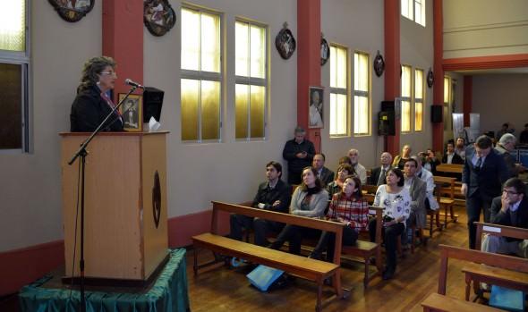 Utilización de energía 100% sustentable por parte de colegio viñamarino fue destacado por alcaldesa Virginia Reginato
