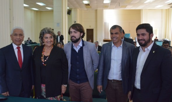 Bienvenida a alcaldes de ciudades puertos brindó alcaldesa Virginia Reginato