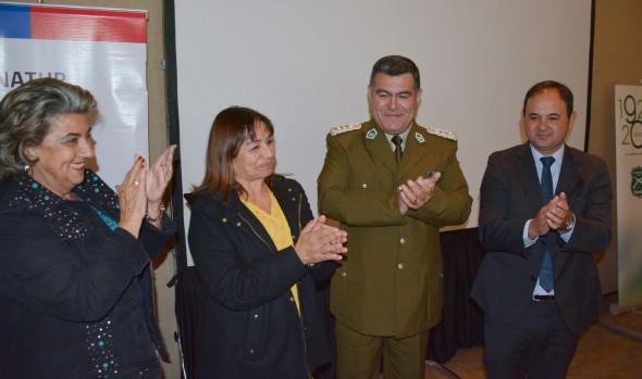 Capacitación en conciencia turística realizada a Carabineros fue valorada por alcaldesa Virginia Reginato