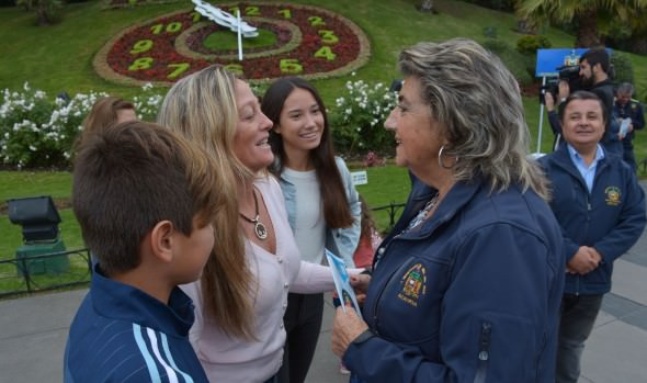 A disfrutar de un fin de semana largo seguro realizó alcaldesa Virginia Reginato