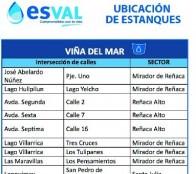 Municipio de Viña del Mar coordina  medidas de mitigación por corte de agua  en parte alta