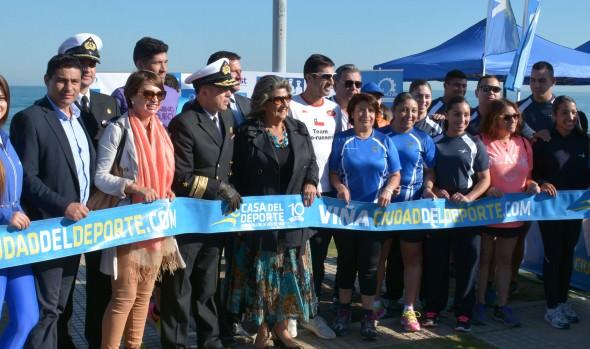 Invitación a participar en XXIII Corrida familiar Mes del Mar realizó alcaldesa Virginia Reginato