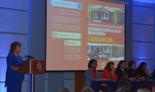 Alcaldesa Virginia Reginato destaca los desafíos para el desarrollo integral de la comuna en nueva etapa de su administración