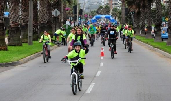 Municipio de Viña del Mar invita a 1ª fecha de  cicletadas familiares 2017, en Reñaca