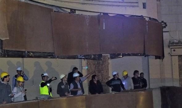 15 empresas realizaron visita a terreno para postular a licitación de obras del Teatro Municipal de Viña del Mar