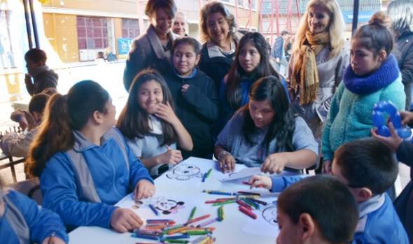 Escuela viñamarina celebró el Día del Alumno con jornada deportiva y recreativa