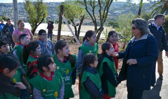 Municipio de Viña del Mar recupera nuevo espacio público comunitario en Canal Beagle