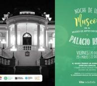 Municipalidad de Viñadel Mar adhiere  a la celebración del Día de los Museos con actividad nocturna en Palacio Rioja