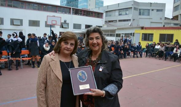 Celebración de los 140 años de Escuela República  del Ecuador encabezó alcaldesa Virginia Reginato