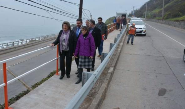 Municipalidad de Viña del Mar habilitará circuito peatonal para unir Jardín del Mar con el borde costero
