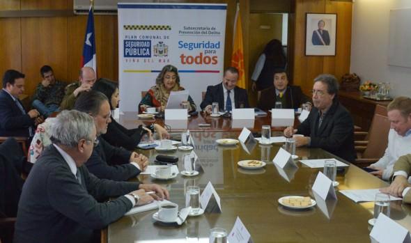 Municipio de Viña del Mar y Gobierno Regional  acuerdan acciones sobre control del comercio ilegal