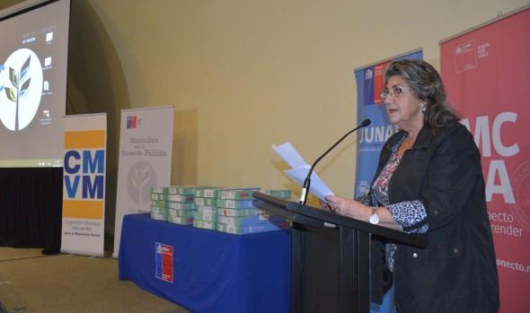 Más de mil estudiantes viñamarinos recibieron su PC de parte de alcaldesa Virginia Reginato y autoridades de Gobierno
