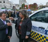 Alcaldesa Virginia Reginato califica la Seguridad Ciudadana, como una  gran prioridad