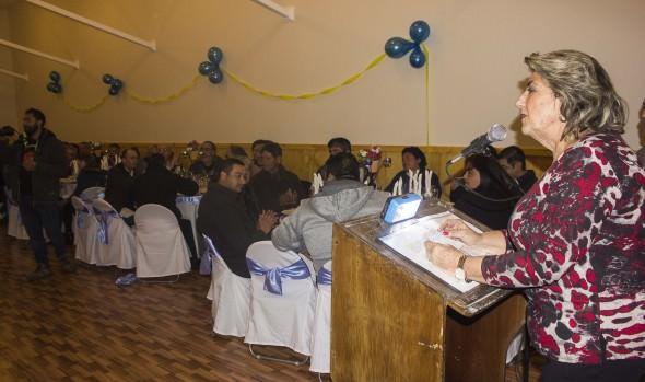 Salón auditorio de la Asociación de fútbol de Viña del Mar inauguró alcaldesa Virginia Reginato