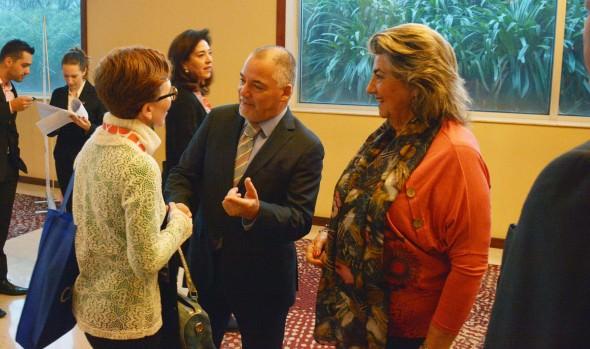 En importante feria latinoamericana de turismo alcaldesa Virginia Reginato, promovió a Viña del Mar, como ciudad sede de congresos