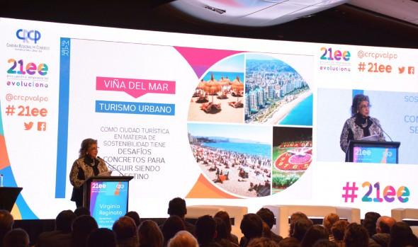 Viña del Mar se proyecta como destino turístico sostenible destacó alcaldesa Virginia Reginato