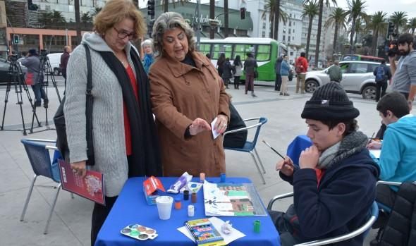 Municipio de Viña del Mar fomenta  inclusión de personas con discapacidad  con 7º concurso de pintura