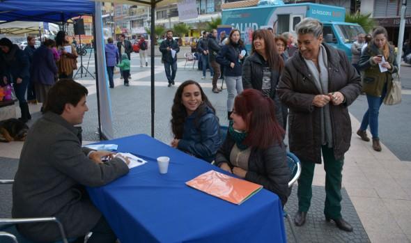 Atenciones en terreno a viñamarinos de Oficina de Intermediación Laboral (OMIL) informó alcaldesa Virginia Reginato