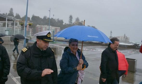 Plan de contingencia de la Municipalidad de Viña del Mar cumplió su objetivo frente a temporal