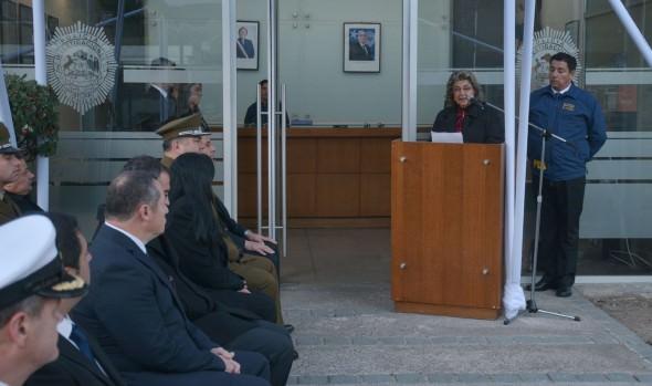 En nuevo aniversario de la PDI, alcaldesa Virginia Reginato destacó su apoyo a la ciudad