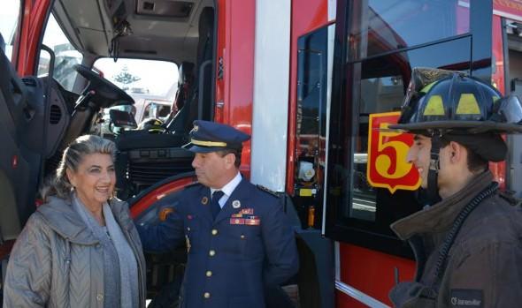 Tradicional Cena del fuego de bomberos tendrá atractivas sorpresas este año, informó alcaldesa Virginia Reginato