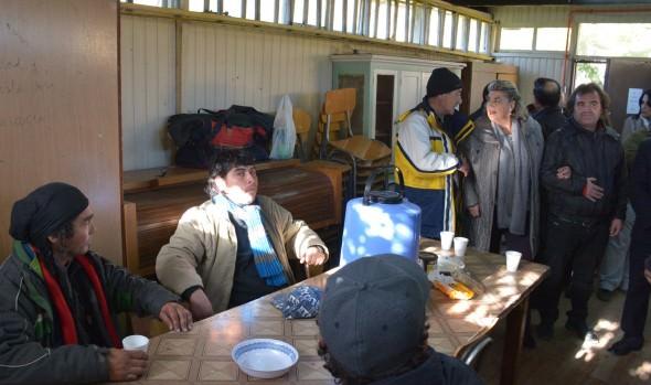 Municipio de Viña del Mar y Ministerio de Desarrollo Social abren albergue para personas en situación de calle