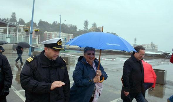Alcaldesa Virginia Reginato destaca a una Viña del Mar resiliente