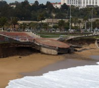 Municipio  de Viña del Mar analiza opciones para recuperar escenario de  playa del Deporte