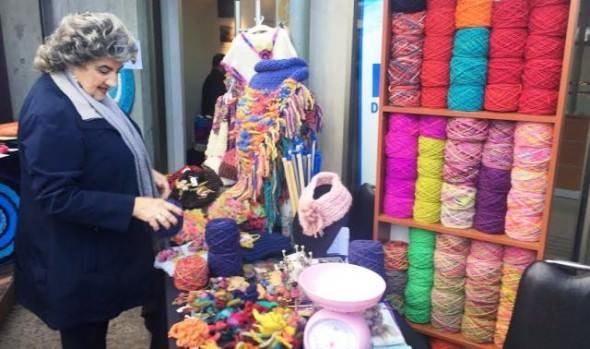 Delegación Municipal de Reñaca desarrolló atractiva exposición  de  lanas y tejidos